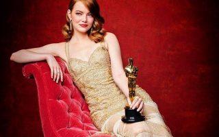 Emma Stone Óscar capa