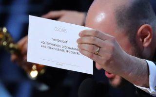 Envelope engano vencedor Melhor Filme Óscares