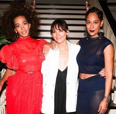 Festa após Grammys Beyoncé e Solange Knowles