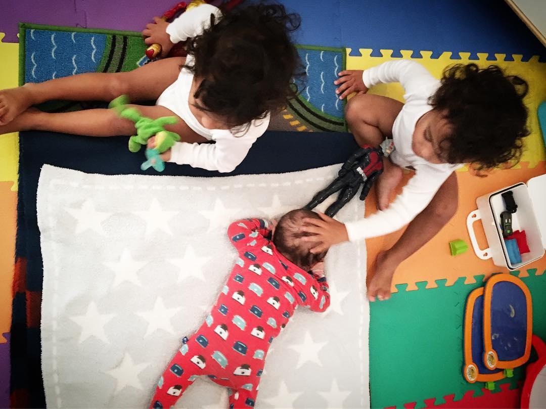 Filhos de Zoe Saldana