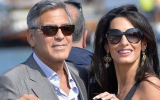 George Clooney e Amal casamento