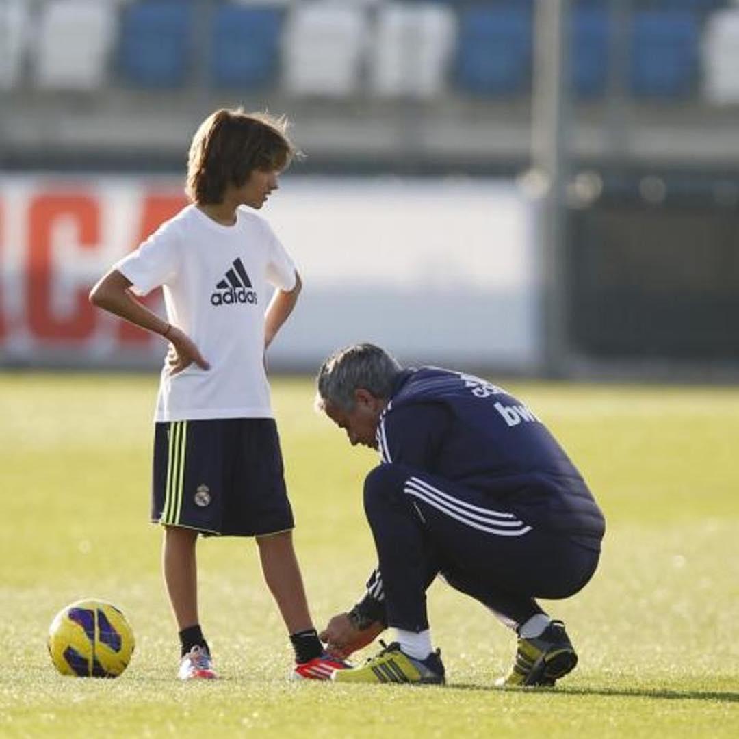 José Mourinho e filho José Mário