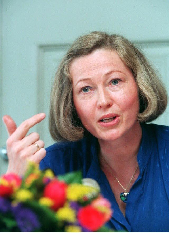 Kaci Kullmann Five, presidente do Comité Nobel norueguês