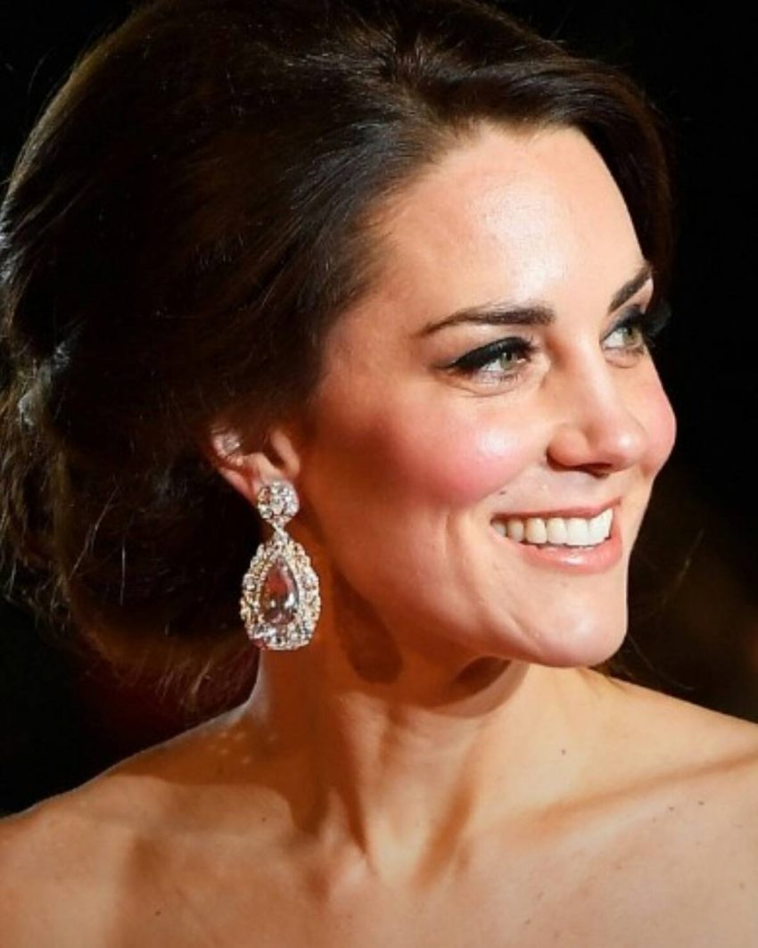 Kate Middleton BAFTA brincos