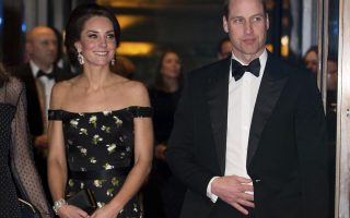 Kate Middleton e Príncipe William BAFTA 2