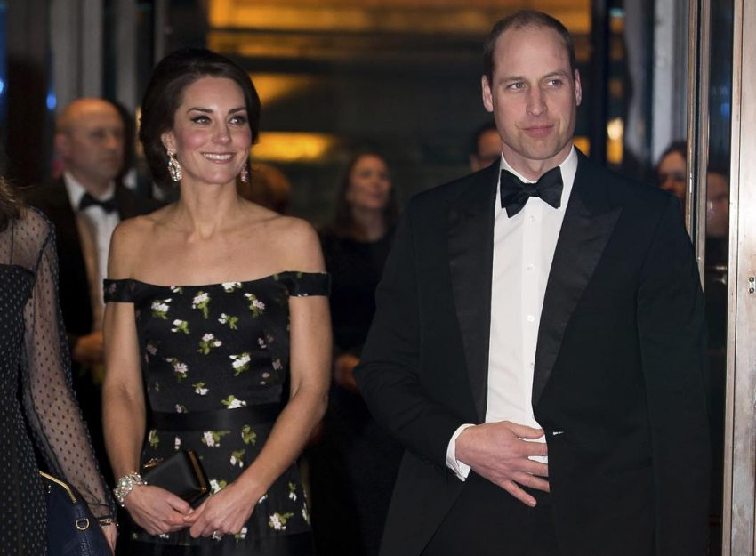 Kate Middleton e Príncipe William BAFTA 2