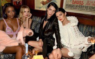 Kendall Jenner, Bella Hadid e amigas