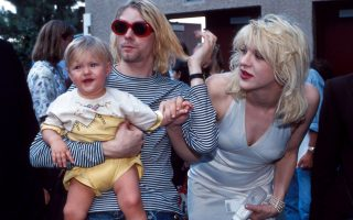 Kurt Cobain, Courtney Love e Frances Bean Cobain