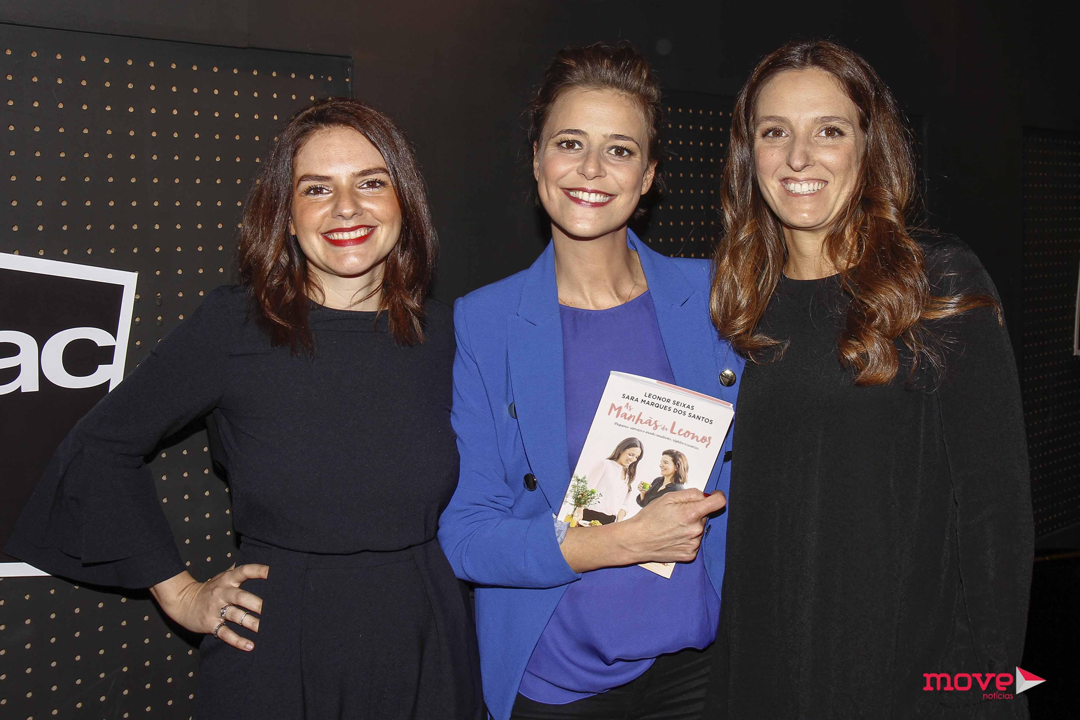 Leonor Seixas, Sara Marques dos Santos e Leonor Poeiras apresentação de livro
