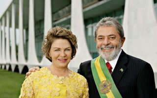 Marisa Letícia e Lula da Silva presidência do Brasil