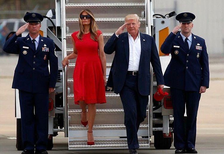 Melania e Donald Trump