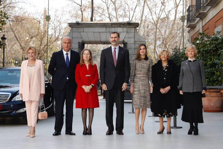 Reis de Espanha no dia da sentença da infanta Cristina 2