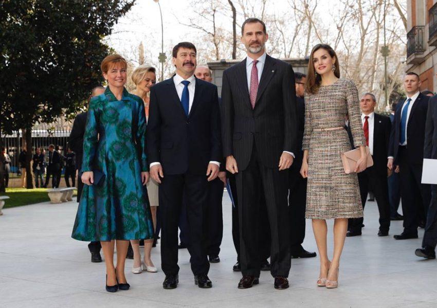 Reis de Espanha no dia da sentença da infanta Cristina