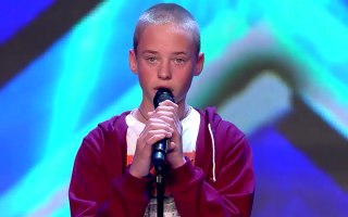 Ryan 14 anos canta Summertime Sadness no Got Talent espanhol