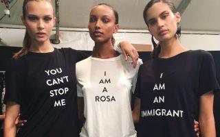 Sara Sampaio e outras imigrantes capa