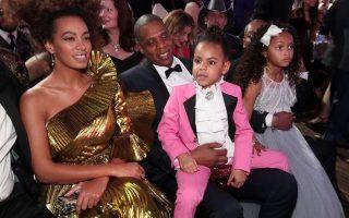Solange Knowles, Blue Ivy e Jay Z Grammy
