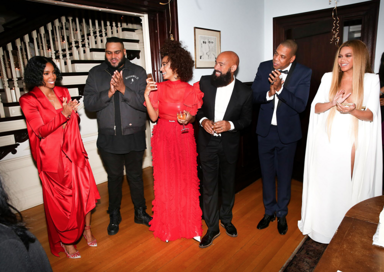 Solange Knowles e Beyoncé festa após Grammys 3