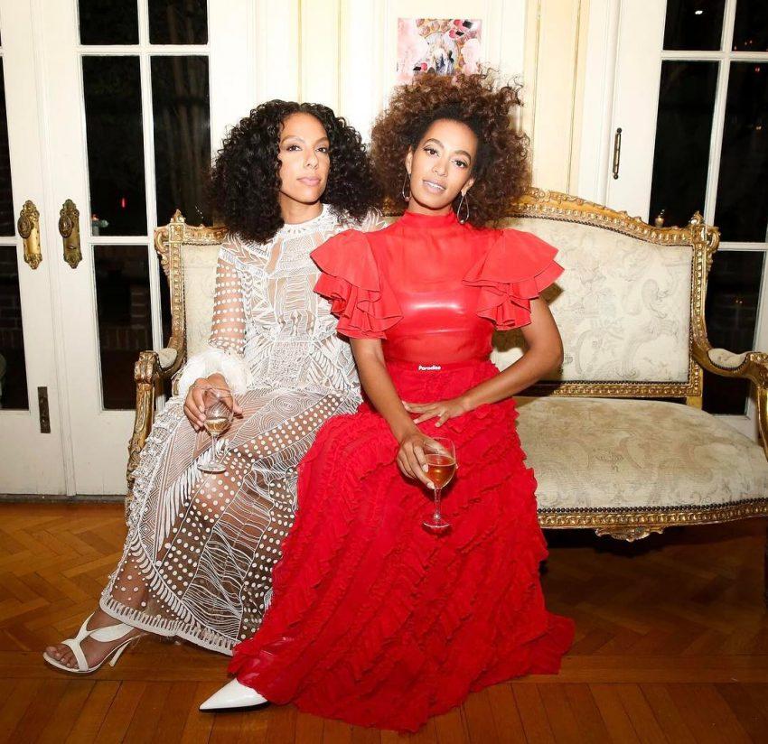 Solange Knowles festa após Grammys