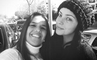 Vanessa Afonso, mãe de Nonô, e Marta Cruz