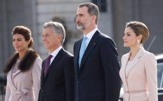 Visita Presidente da República da Argentina aos reis de Espanha 4