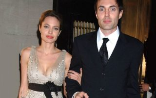 Angelina Jolie e o irmão James Haven capa