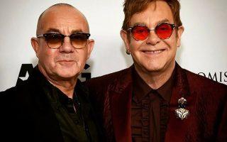 Bernie Taupin e Elton John festa 70 anos capa