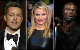 Brad Pitt, Cameron Diaz e Seal