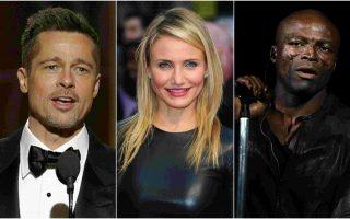 Brad Pitt, Cameron Diaz e Seal