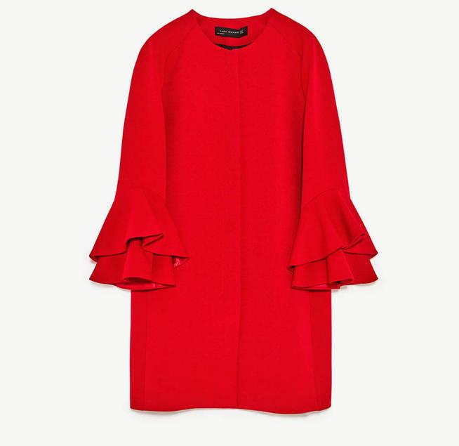 Casaco novo da Zara da Rainha Leitizia