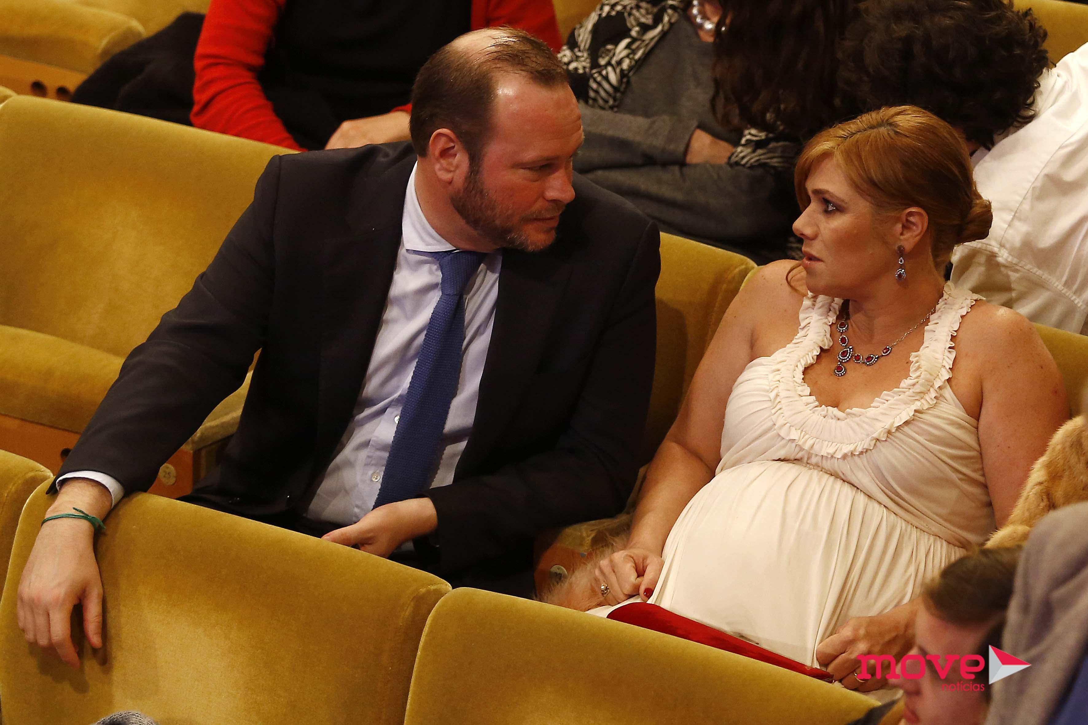 Ana Brito e Cunha e marido