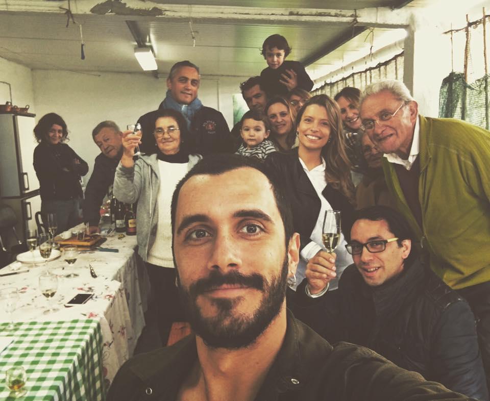 Diogo Luís e família paterna