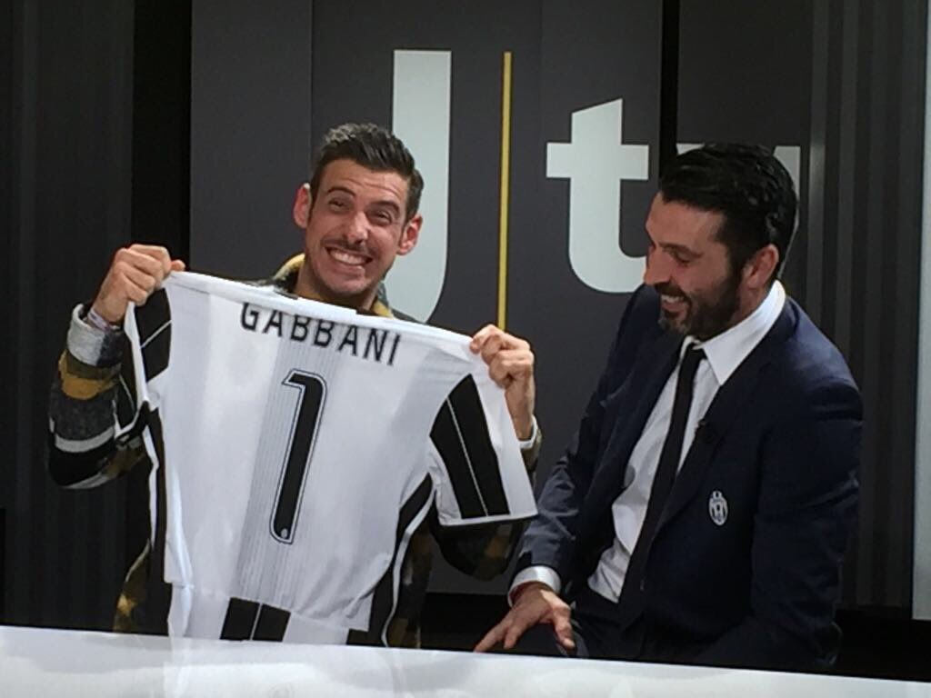 Francesco Gabbani e Buffon