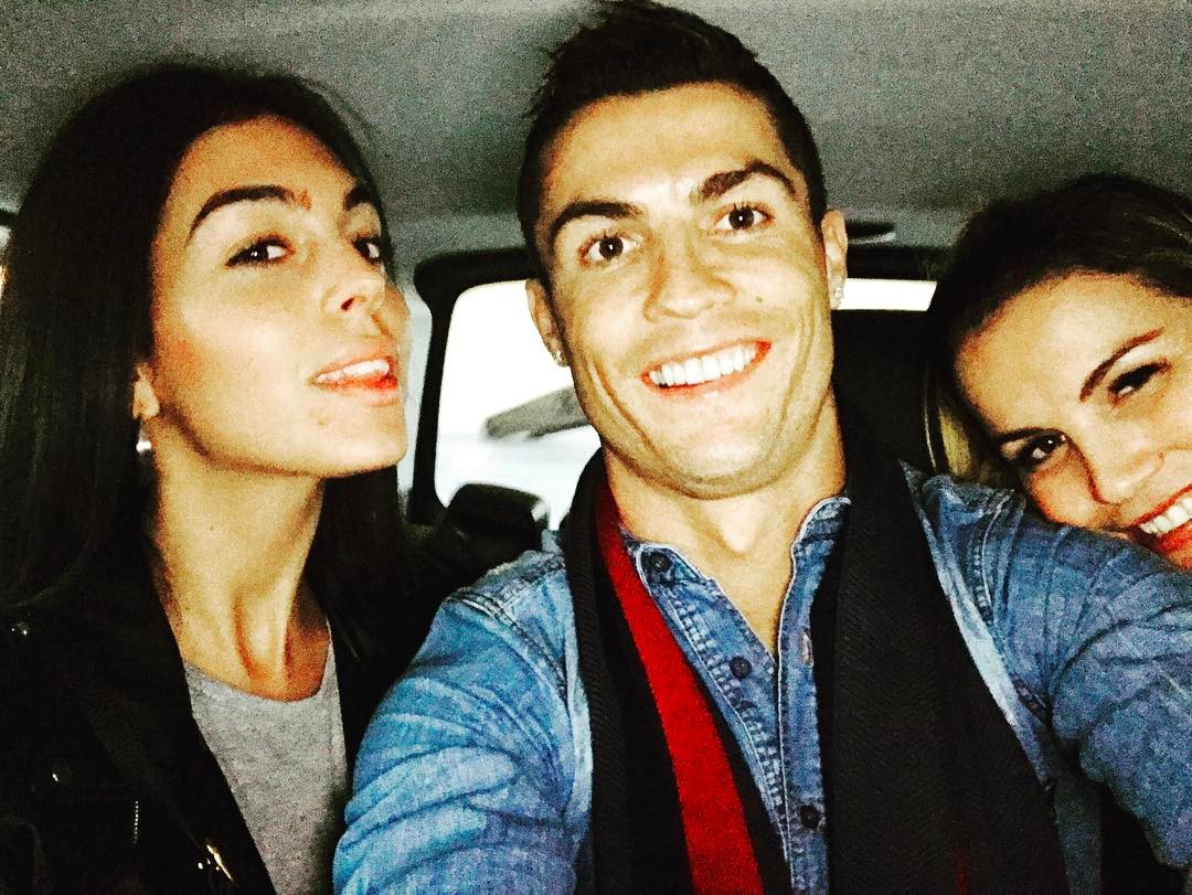 Georgina Rodríguez, Cristiano Ronaldo e Kátia Aveiro