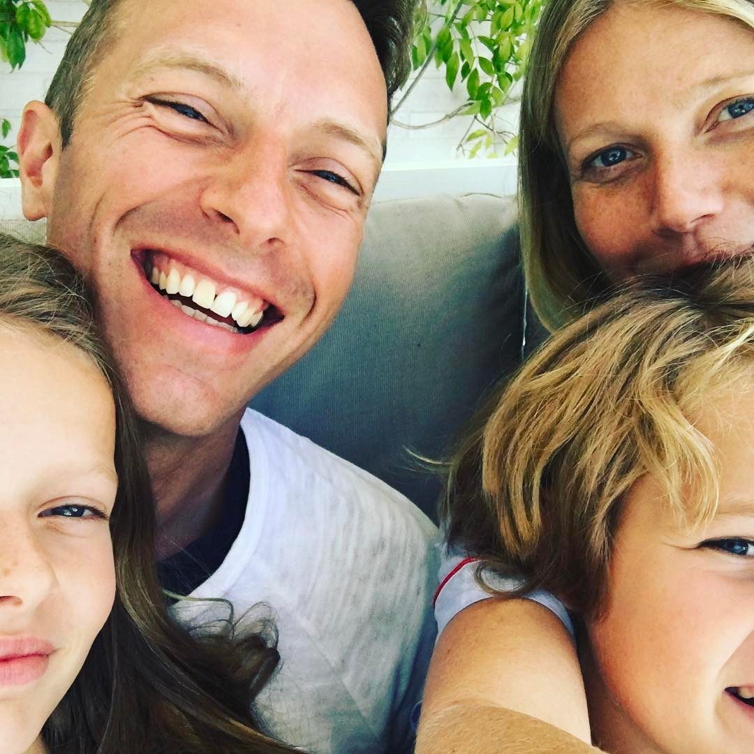 Gwyneth Paltrow, Chris Martin e filhos
