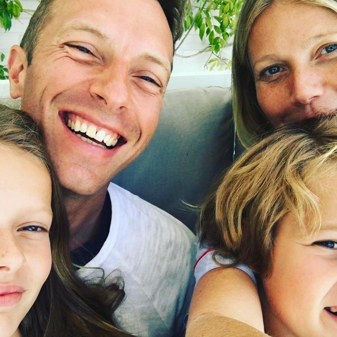 Gwyneth Paltrow, Chris Martin e filhos