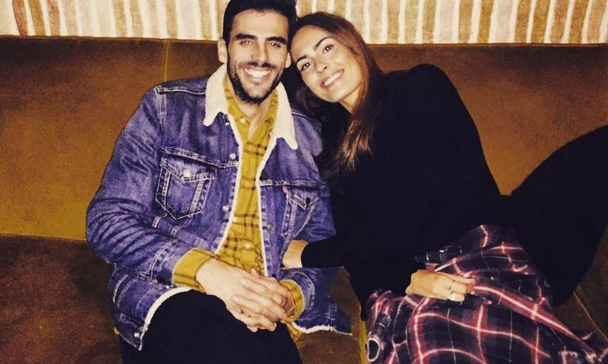 Inês Gonçalves com o namorado, Tomás Tengarrinha
