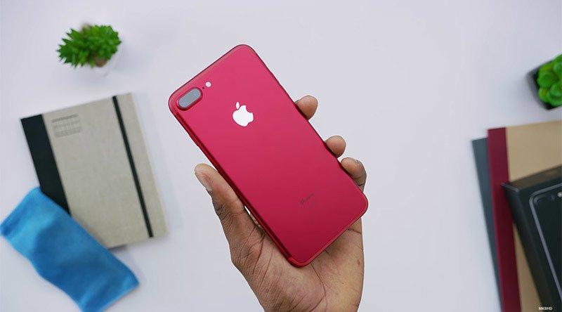 iPhone vermelho
