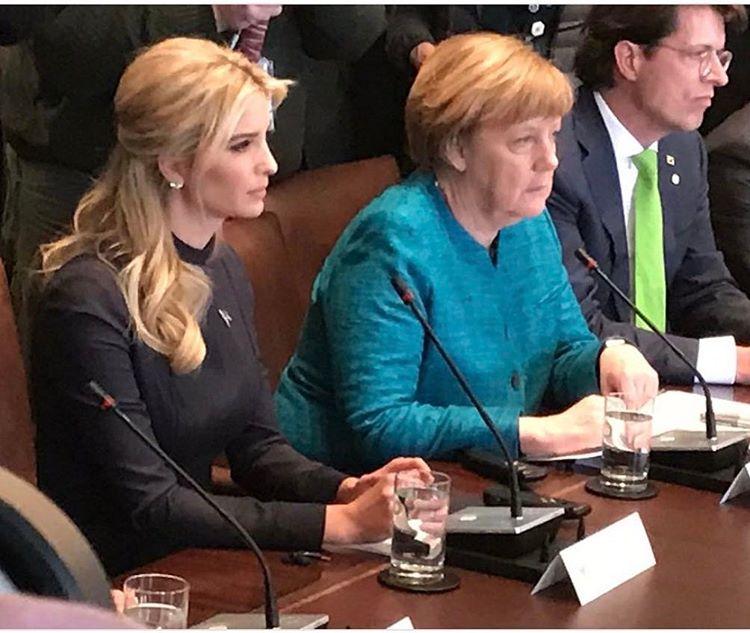 Ivanka Trump_ Angela Merkel