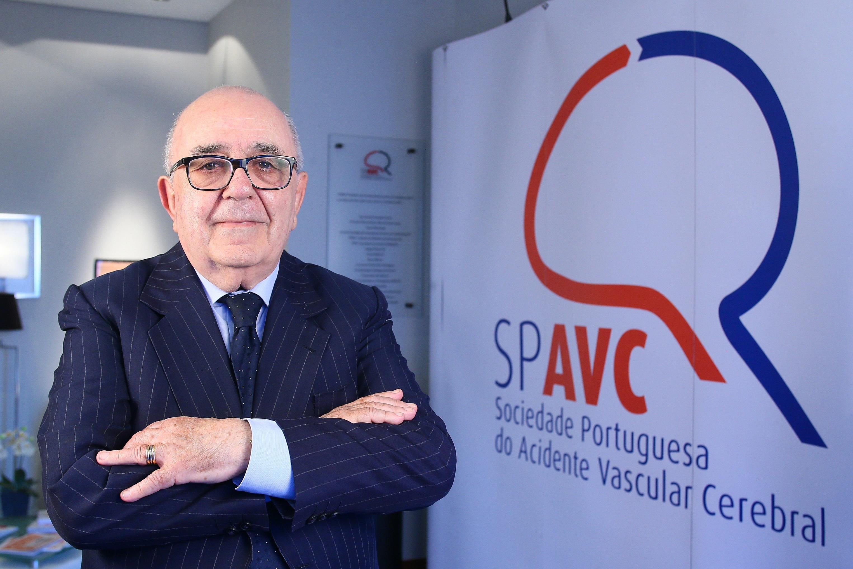 José Castro Lopes presidente Sociedade Portuguesa do Acidente Vascular Cerebral