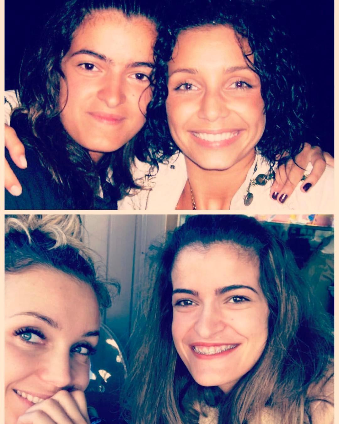 Luciana Abreu e amiga Ana Micaela