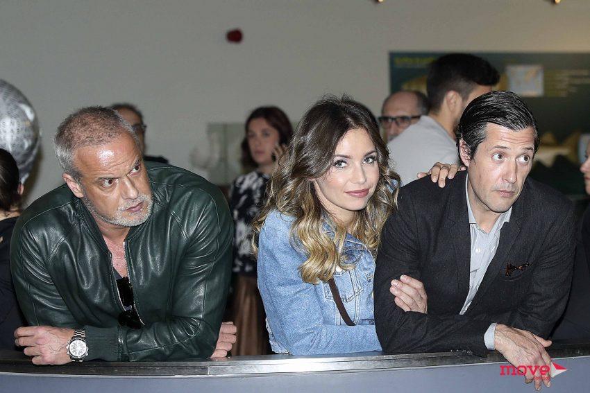 Ricardo Carriço, Luciana Abreu e Felipe Vargas