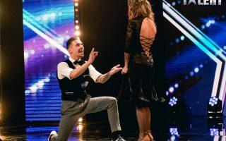 Pedido de casamento Vadim e Elena dança Got Talent Portugal