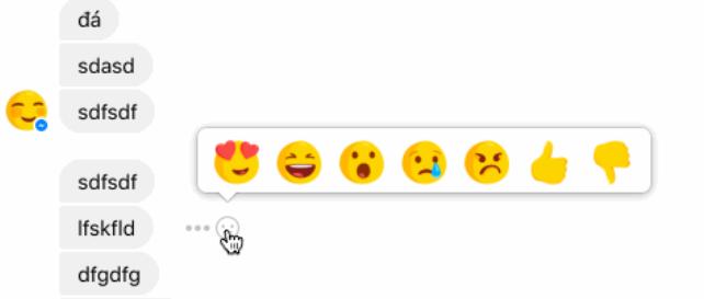 Reação Não Gosto Facebook