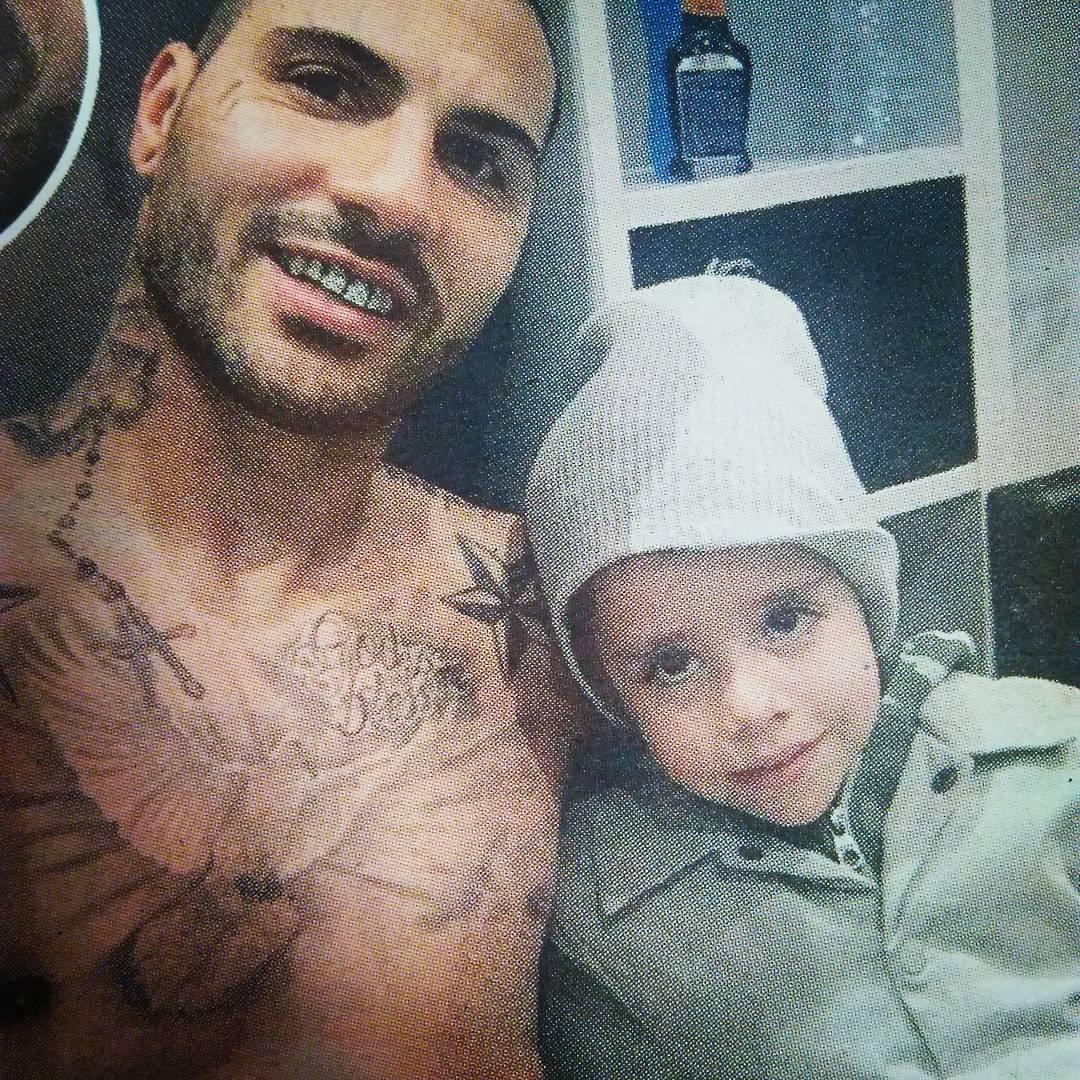 Ricardo Quaresma e filho