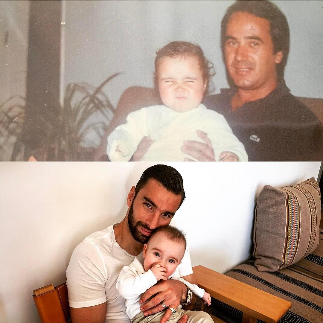 Rui Patrício, filho e sogro