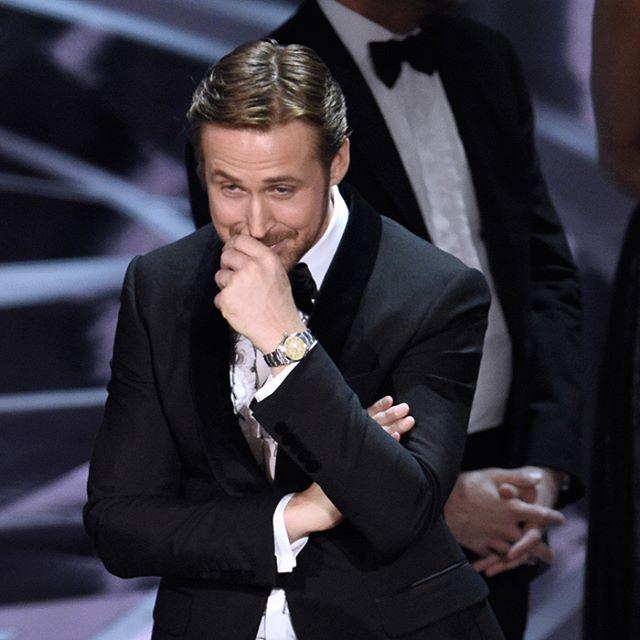 Ryan Gosling reação bronca Óscares