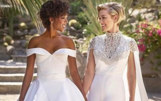 Samira Wiley e Lauren Morelli de Orange is the new black casamento capa