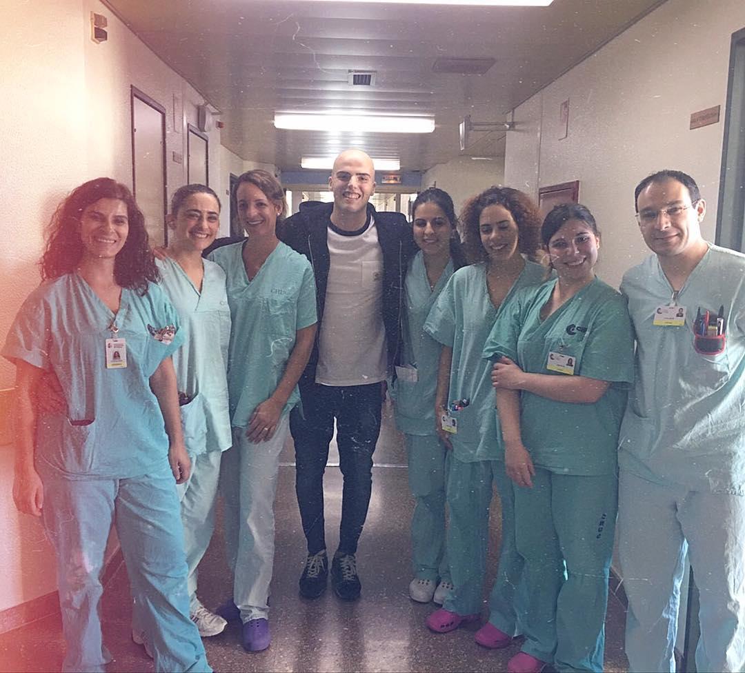 Sandro Lima e equipa médica