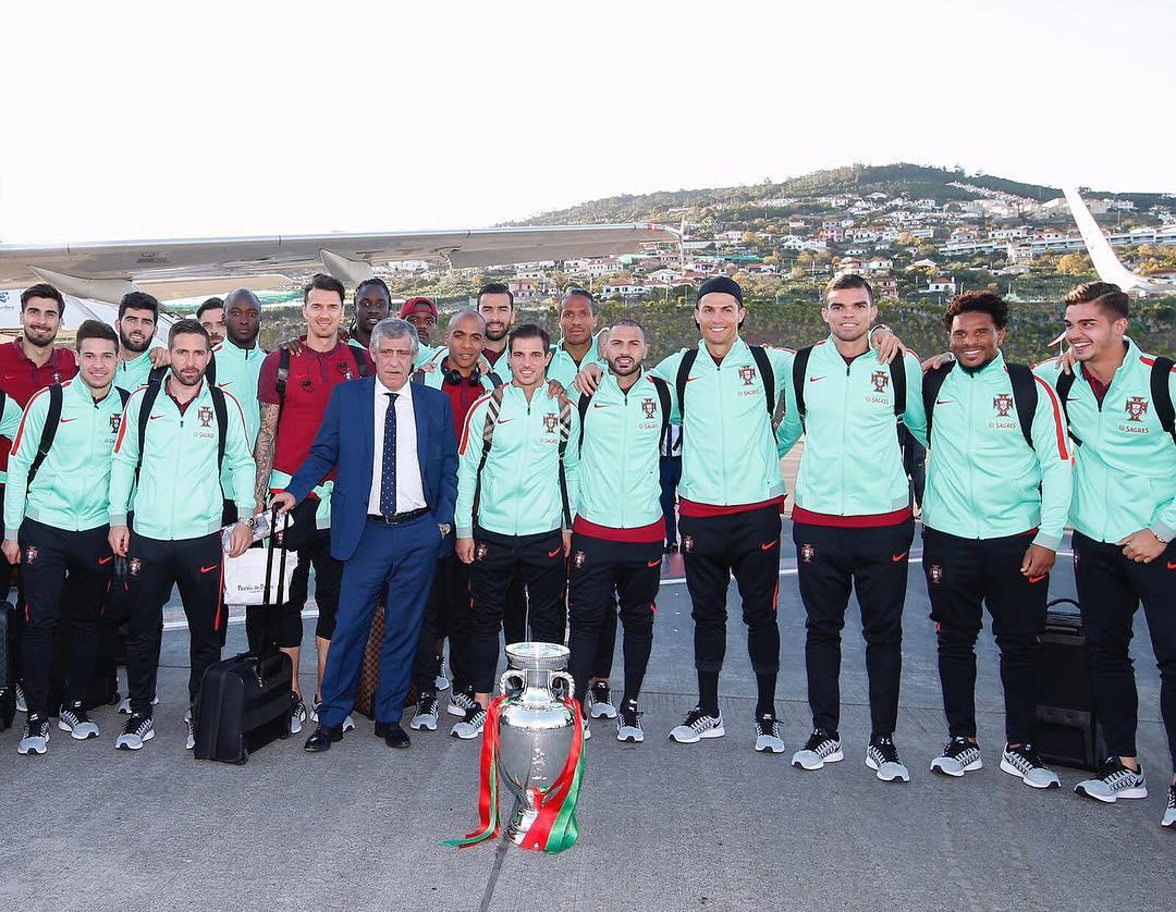 Seleção nacional na Madeira