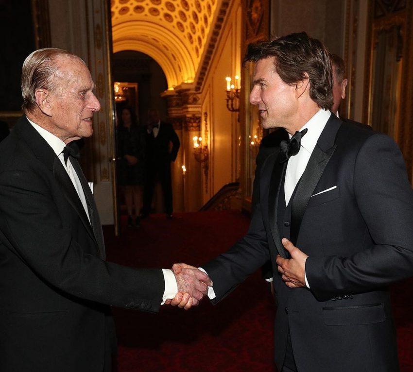 Tom Cruise e Duque de Edimburgo 3